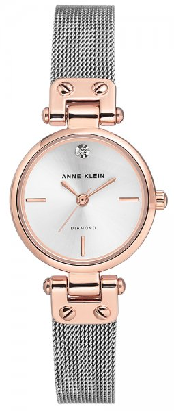 Zegarek damski Anne Klein bransoleta AK-3003SVRT - duże 1