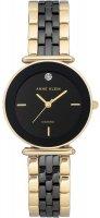 Zegarek damski Anne Klein bransoleta AK-3158BKGB - duże 1
