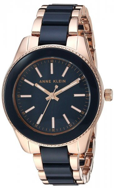 Zegarek damski Anne Klein bransoleta AK-3212NVRG - duże 1