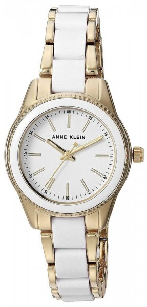 Zegarek damski Anne Klein bransoleta AK-3212WTGB - duże 1