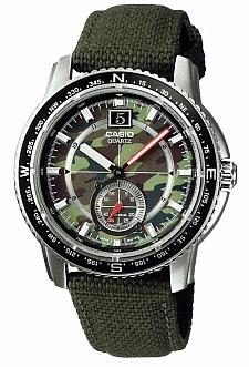 Zegarek męski Casio klasyczne AMW-102B-3A - duże 1