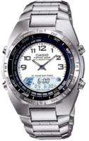Zegarek męski Casio analogowo - cyfrowe AMW-700D-7AVEF - duże 1