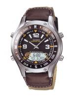 Zegarek męski Casio analogowo - cyfrowe AMW-701B-5A2 - duże 1
