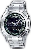 Zegarek męski Casio analogowo - cyfrowe AMW-707D-1AVEF - duże 1