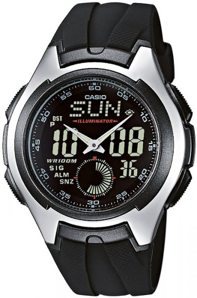 AQ-160W-1BV - zegarek męski - duże 3