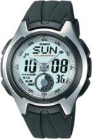 Zegarek męski Casio analogowo - cyfrowe AQ-160W-7BVEF - duże 1