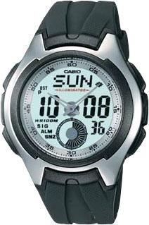 Zegarek Casio AQ-160W-7BVEF - duże 1