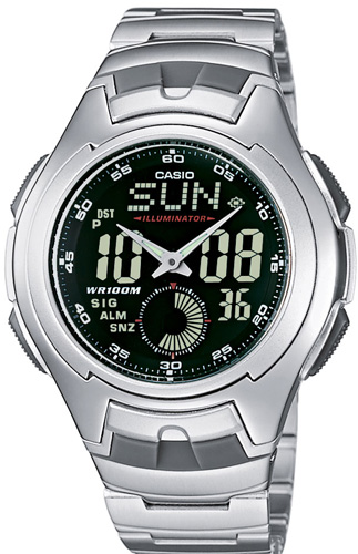Zegarek Casio AQ-160WD-1BVEF - duże 1