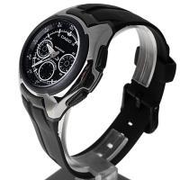 Zegarek męski Casio analogowo - cyfrowe AQ-163W-1B1VEF - duże 3