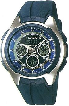 AQ-163W-2BVEF - zegarek męski - duże 3