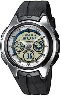 AQ-163W-7B1VEF - zegarek męski - duże 3