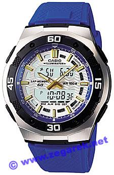 AQ-164W-2AVEF - zegarek męski - duże 3