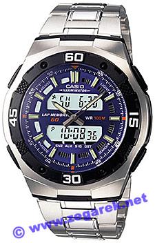 Zegarek Casio AQ-164WD-2AVEF - duże 1