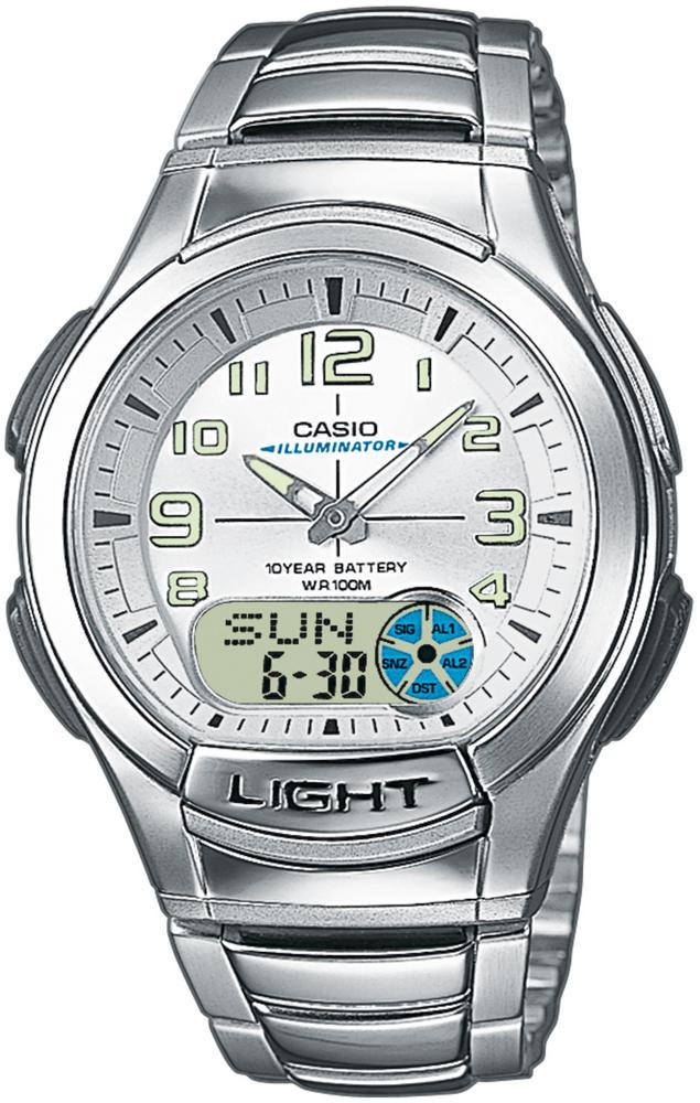 Zegarek Casio AQ-180WD-7BV - duże 1