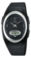 Zegarek damski Casio analogowo - cyfrowe AQ-E10-1B - duże 1