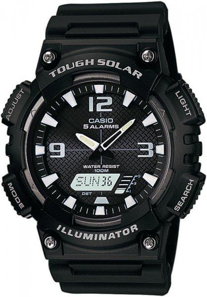 Zegarek męski Casio analogowo - cyfrowe AQ-S810W-1AVEF - duże 1