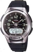 Zegarek męski Casio analogowo - cyfrowe AQ-180W-1BV - duże 3