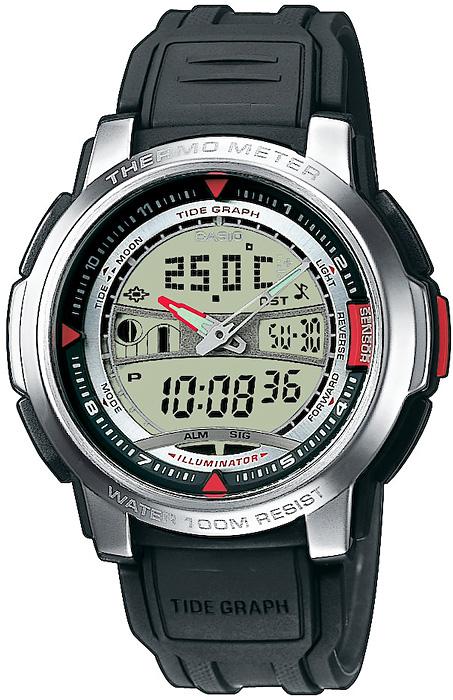 Zegarek Casio AQF-100W-7BVEF - duże 1
