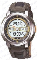 Zegarek męski Casio analogowo - cyfrowe AQF-100WB-3B - duże 1
