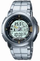 Zegarek męski Casio analogowo - cyfrowe AQF-100WD-9BVEF - duże 1