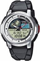 Zegarek męski Casio analogowo - cyfrowe AQF-102W-7BVEF - duże 1
