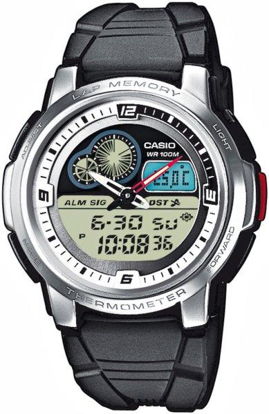 AQF-102W-7BVEF - zegarek męski - duże 3
