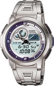 Zegarek Casio AQF-102WD-2BVEF - duże 1