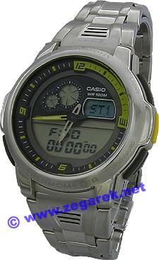Casio AQF-102WD-9B Analogowo - cyfrowe