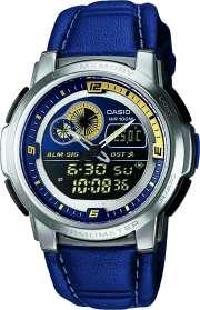 Zegarek męski Casio analogowo - cyfrowe AQF-102WL-2B - duże 1