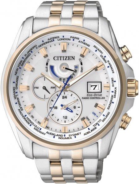 Zegarek męski Citizen radio controlled AT9034-54A - duże 3