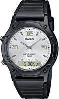 Zegarek męski Casio analogowo - cyfrowe AW-49HE-7AVEF - duże 1