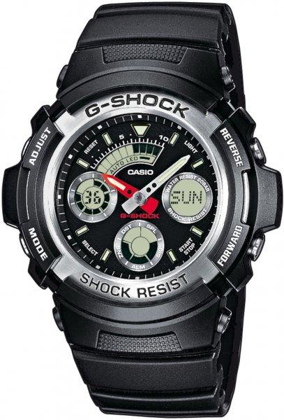 Zegarek Casio G-SHOCK AW-590-1AER - duże 1