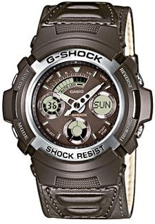G-Shock AW-590BL-5AER G-Shock Leathermaster Pro