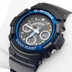 Zegarek męski Casio g-shock original AW-591-2AER - duże 6