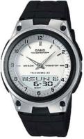 Zegarek męski Casio analogowo - cyfrowe AW-80-7AV - duże 2