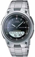 Zegarek męski Casio analogowo - cyfrowe AW-80D-1AV - duże 2