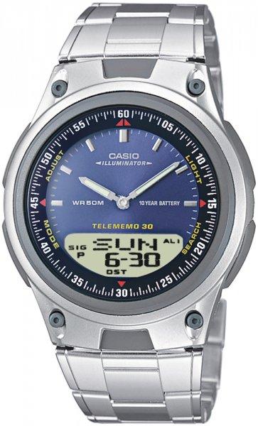 AW-80D-2AV - zegarek męski - duże 3
