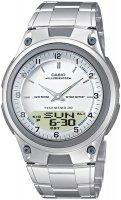 Zegarek męski Casio analogowo - cyfrowe AW-80D-7AV - duże 1