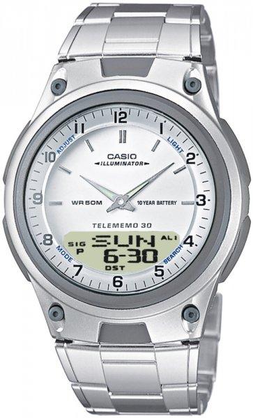 AW-80D-7AV - zegarek męski - duże 3