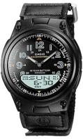 Zegarek męski Casio analogowo - cyfrowe AW-80V-1B - duże 1