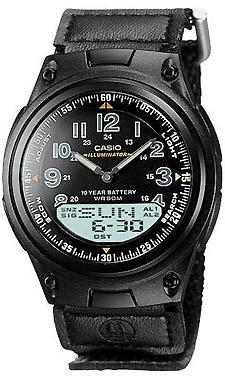 AW-80V-1B - zegarek męski - duże 3