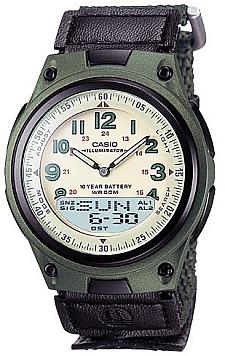 Zegarek Casio AW-80V-3B - duże 1