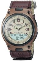 Zegarek męski Casio analogowo - cyfrowe AW-80V-5B - duże 1