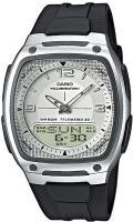 Zegarek męski Casio analogowo - cyfrowe AW-81-7AVEF - duże 1