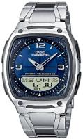 Zegarek męski Casio analogowo - cyfrowe AW-81D-2AVEF - duże 2