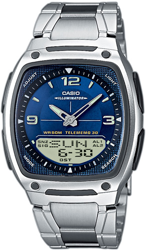 Zegarek Casio AW-81D-2AVEF - duże 1