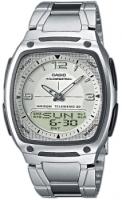 Zegarek męski Casio analogowo - cyfrowe AW-81D-7AVEF - duże 1