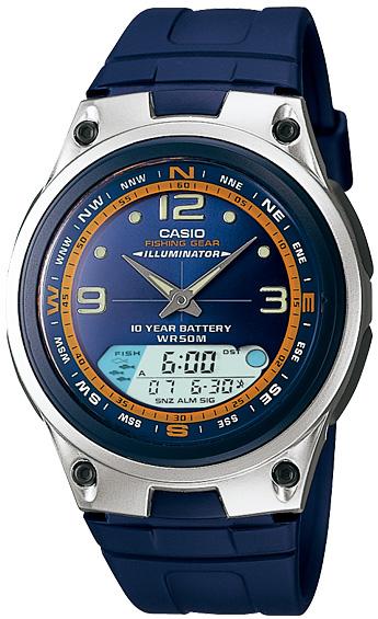 Zegarek męski Casio Analogowo - cyfrowe AW-82-2AVEF - zdjęcie 1