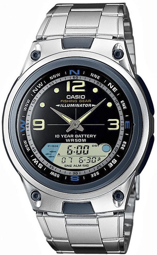 AW-82D-1A-POWYSTAWOWY - zegarek męski - duże 3