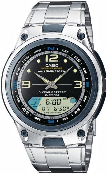 AW-82D-1AVEF - zegarek męski - duże 3